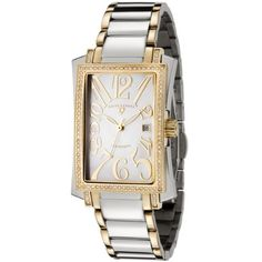 Swiss Legend Women's 10034-SG-22 Diamond Two-Tone White Mother of Pearl Dial Watch Swiss Legend. $269.99. Scratch-resistant sapphire-crystal; polished two tone stainless steel case and bracelet. Precise Swiss-quartz movement. Water-resistant to 165 feet (50 M). Date function. White mother of pearl dial with luminous hands and gold-tone arabic numerals; diamonds on bezel