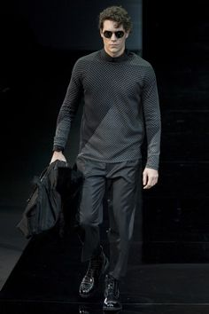 Catwalk 8 / Emporio Armani /winter 2014-2015