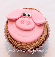 Piggy Cupcake