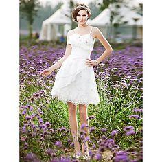 DEMETER - Vestido de Noiva 2012 em Tafetá e Renda – USD $ 129.99