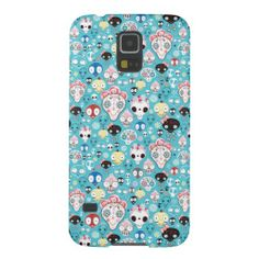 Texture laughing skull case for galaxy s5