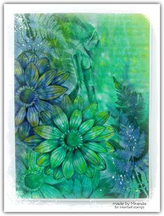 'Mir'acle Art Inspirations: Heerlijk spelen met de Inkerbell stempels.....gastdesigner Miranda Degenaars