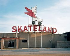"""Skateland, from the series """"Crossroad Blues"""", photo by Daniel Weiss."""