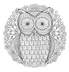 Relax With These 188 Free, Printable Coloring Pages for Adults: Free Adult Coloring Pages from Art is Fun!