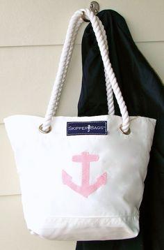pink anchor bag