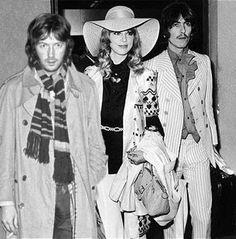 Eric, Pattie & George Harrison