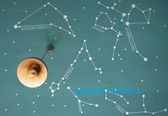 Star map on the ceiling? Oh yes, especially if it glows in the dark.