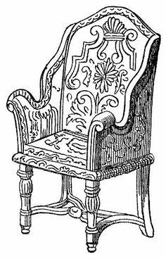Love This Chair Design Queen Anne Furniture Queen Anne Chair Wingback Chair Armchair