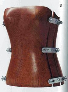 Hussein-Chalayan wooden corset