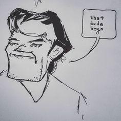 """#sketch of #Reddit user """"thatguyheyo"""" #redditartistnetwork"""