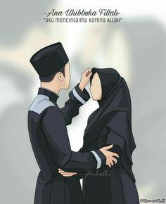 REAL LOVE, begins when you decide to make it halal💖💖 Cute Muslim Couples, Muslim Girls, Muslim Women, Cute Couples, Love Cartoon Couple, Cute Couple Art, Anime Love Couple, Girl Cartoon, Muslim Pictures