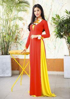 Вьетнам Традиционный длинное платье