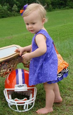Clemson bloomer set- holy cow this is cute