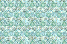 Summer Breeze outdoor fabric in the color Poolside.