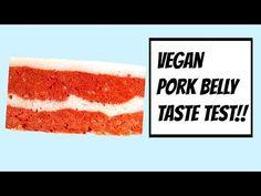 VEGAN PORK BELLY TASTE TEST!!🐷🐷