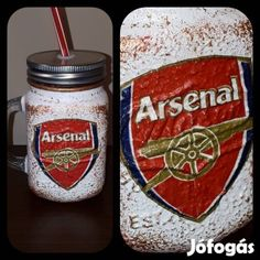 Kínál Egyedi kézműves füles bögre és szívószálas pohár 2 in 1. Arsenal: Egyedi kézműves füles bögre és szívószálas pohár 2 in 1. Ajándék Arsenal raj... Arsenal, Raj, Arsenal F.c.