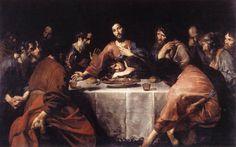 $546, The Last Supper,  Artist: Valentin de Boulogne