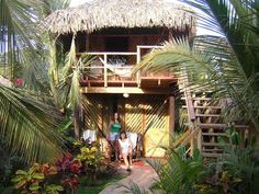Kimbas Bungalows in Mancora Peru designed after Bali-