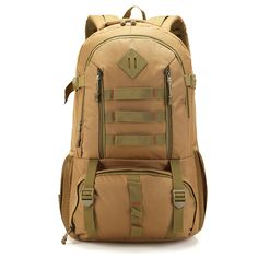 2339752143c8 50 L Big Capacity Backpack Outdoor Waterproof Nylon Men s Backpack Sports  Bags Camo Backpack