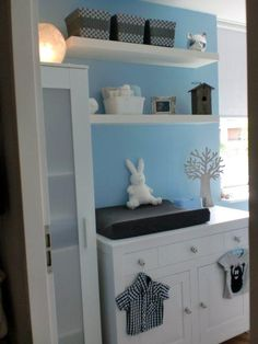 1000 images about babykamer on pinterest nurseries met and wands - Kleur kamer ...