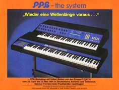 PPG Wave 2.3 / Processor Keyboard Anzeige 2 1984