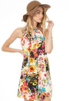 Dress peachloveca floral keyhole neck, luxbyjulia.com $36 S M L