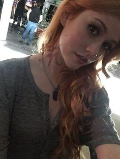 @Kat_McNamara: Clary's first rune!!! #ShadowhuntersChat @FreeformTV @ShadowhuntersTV #Shadowhunters
