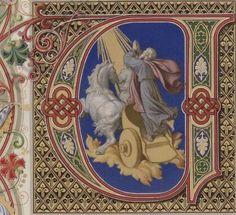 Vat.lat.13080 Illuminated Letters, Illuminated Manuscript, Online Collections, Initials, Writing, Book, Music, Crafts, Art