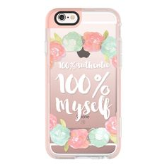 100- MYSELF - iPhone 6s Case,iPhone 6 Case,iPhone 6s Plus Case,iPhone... (£31) ❤ liked on Polyvore featuring accessories, tech accessories, cases, phone cases, phones, iphone case, iphone cases, apple iphone cases, iphone hard case and clear iphone cases