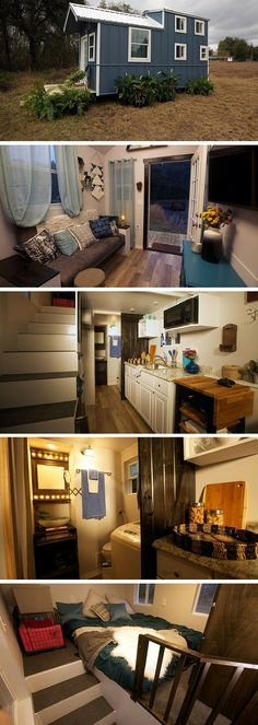 The Country Meets City House: a 240 sq ft tiny house featured on Tiny House Nation