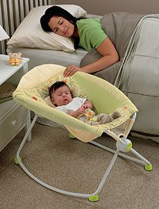 Amazon.com: Fisher-Price Newborn Rock 'N Play Sleeper, Yellow: Baby. MUST-HAVE for every new parent! Trust me...