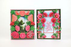 Tattered Lace Cards, Elizabeth Craft, Hollyhock, Lily Of The Valley, Tatting, Bliss, Birthdays, Card Ideas, Flowers