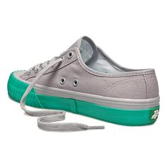 PF Flyers~~ Center Lo Unisex Gray // Teal
