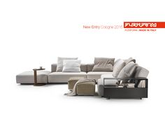 FLEXFORM NEW LARIO #sofa designed by Antonio Citterio. Find out more on www.flexform.it