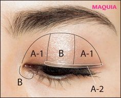 Add shine to the usual brown. Eye make-up technique to see down Diy Makeup, Makeup Tips, Beauty Makeup, Thing 1, Make Beauty, Asian Makeup, Eye Make Up, Eyeshadow Palette, Makeup Looks