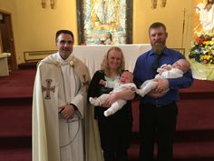 (86) and (87) Chase Andrew Sletten and Riley Cooper Sletten. Baptized April 10, 2016 at St Joseph Church East Bristol WI. Parents, David and Angela.