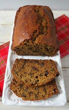 Date and Walnut Quick Bread  - A hearty, sweet quick bread chock full of Diamond of California Walnuts and dates with just a pinch of rum extract to give it a little extra flavor.