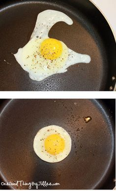 This is So cool. Mason Jar lids for that perfect egg.. Who knew?