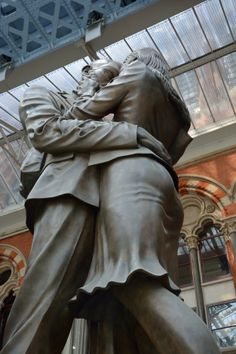 St Pancras International, London Saints, Statue, London, Photography, Art, Art Background, Photograph, Fotografie, Kunst