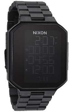 The Synapse Watch in All Black by Nixon