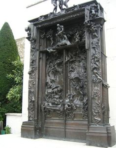 Rodin's Gates of Hell, Rodin Museum - Paris, France Romantic Paris, Beautiful Paris, Musée Rodin, Auguste Rodin, Monuments, Rodin Museum Paris, Paris France, Travel Around The World, Around The Worlds