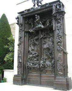 Rodin's Gates of Hell, Rodin Museum - Paris, France Romantic Paris, Beautiful Paris, Beautiful Sites, Musée Rodin, Auguste Rodin, Paris Travel, France Travel, Monuments, Rodin Museum Paris