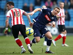 Millwall 1 Southampton 1 in Jan 2012 at the New Den. Harry Kane fools Daniel Fox in the FA Cup 4th Round.