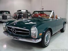 This will be a piece of my life within the next 10 years. #goals #favorites 1969 MERCEDES-BENZ 280SL CONVERTIBLE Mercedes Benz, Leather Interior, Convertible, Classic Cars, Vehicles, 10 Years, Boats, Presents, Gallery