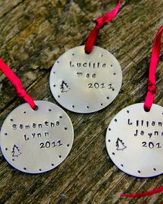 Holiday Ornament Custom Childrens Gifts by whiteliliedesigns, $39.50