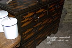 Arundel Eccentrics: English Victorian Bamboo and Decorated Chests of Drawers