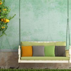 Yazlık evlerinizin dış dekorasyonunda kullanacağınız renkli minderler, size rahat bir mekan yaratmanın yanı sıra evinize şıklık katacaktır. #decoration #homedesign #homedecoration #garden #gardendecoraion #villa