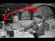 Stunning new evidence that Adolf Hitler & Eva Braun Hitler survived and live out the rest of their years in Argentina. Adolf Hitler didn't commit suicide. Ancient Aliens, Ancient History, Who Were The Romans, World Empire, Fourth World, European History, New World Order, Conspiracy Theories, History Facts
