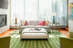 Live Artfully -- Bright and Colorful Living Room #liluinteriors #liveartfully #lilu #color #colorpalette #colorpaletteideas #colorscheme #colorschemeideas #interiorcolorpalette #interiorcolorschemes #interiorcolorpaletteideas #interiorcolorschemeideas Interior Color Schemes, Interior Design, Colourful Living Room, Play Houses, Design Process, Colorful Interiors, Floor Chair, Diy Furniture, Minneapolis Minnesota
