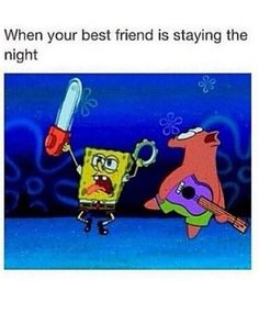 Funny meme with spongebob and patrick literally me Really Funny Memes, Stupid Funny Memes, Funny Relatable Memes, Haha Funny, Hilarious, Funny Stuff, Seriously Funny, Funny Things, When Your Best Friend